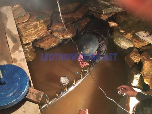 Đèn Led đài phun nước 12W 3