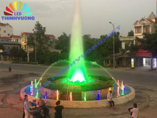 Cung cấp đèn Led đài phun nước 3