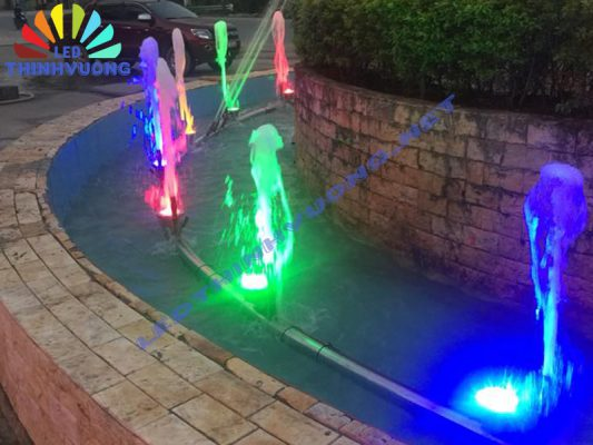 Cung cấp đèn Led đài phun nước 4