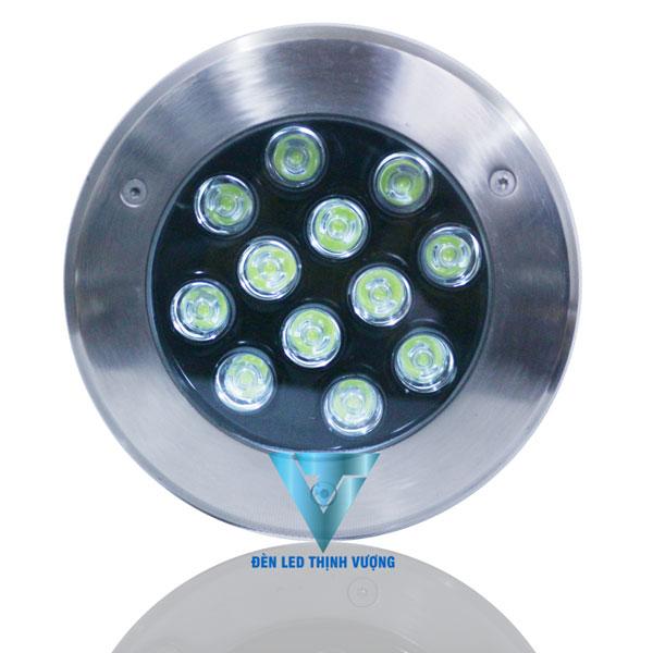 Đèn âm đất 12w/24VAC đơn sắc2