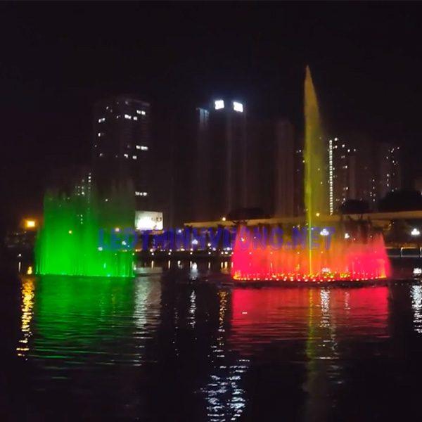 Đèn Led âm nước 9w 3