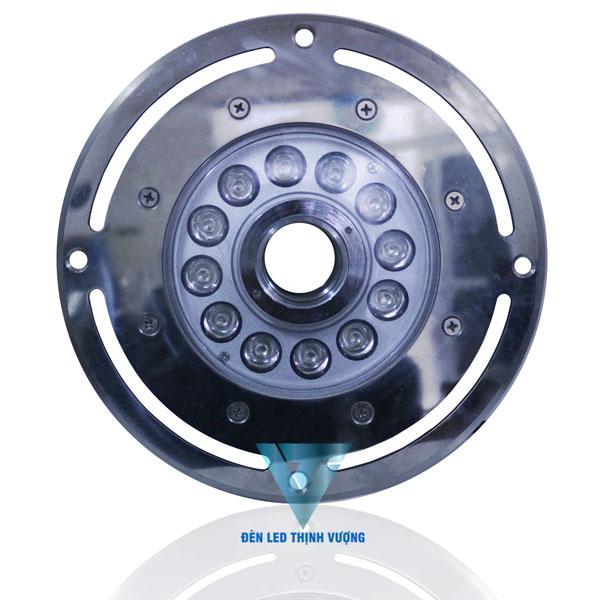 Đèn Led âm sàn 12w dạng bánh xe