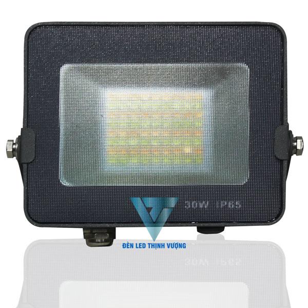 Đèn pha Led 30W siêu mỏng chiếu sáng ngoài trời 2