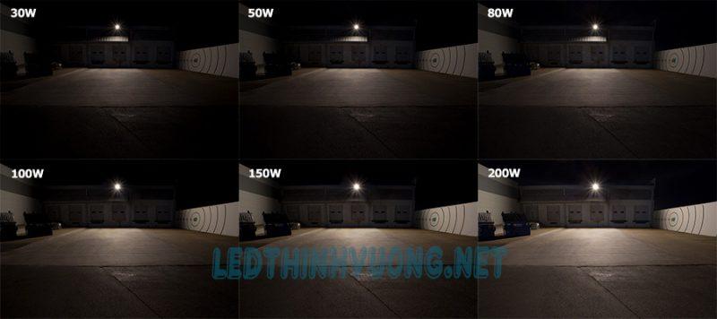 Đèn pha Led siêu sáng 200W 2