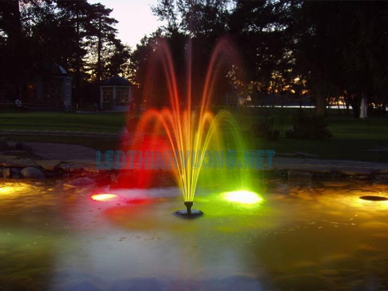 Đèn chiếu âm nước - Giải pháp chiếu sáng cho đài phun nước 3