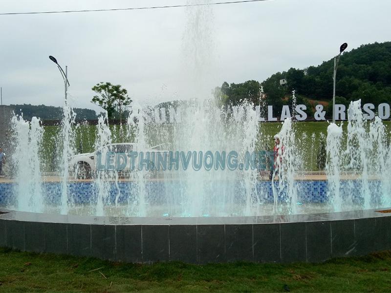 Đèn chiếu âm nước - Giải pháp chiếu sáng cho đài phun nước 4