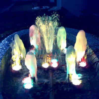 Đèn chiếu đài phun nước 2