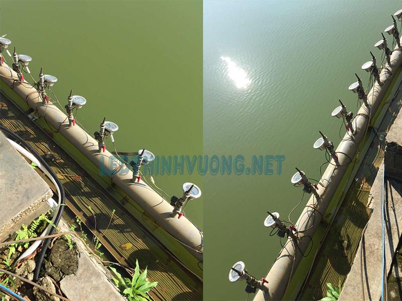 Đèn Led lắp cho vòi phun nước 4