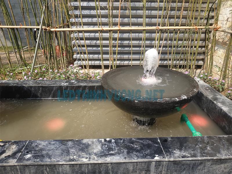 Cung cấp đèn cho đài phun nước mini 2