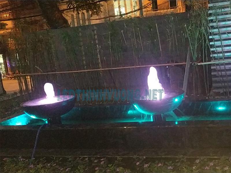 Cung cấp đèn cho đài phun nước mini 3