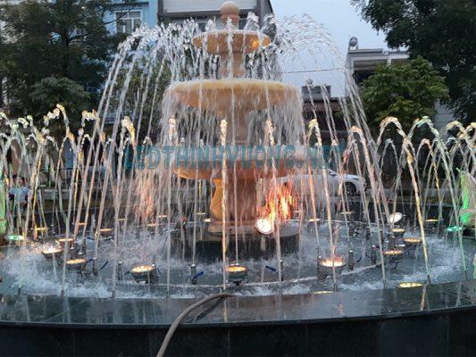 Đèn Led cho đài phun nước vườn hoa Nguyễn Quán Quang 1