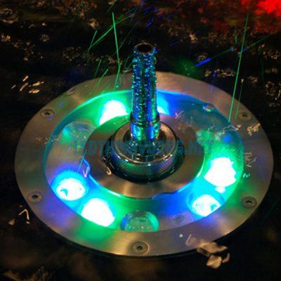 Đèn Led âm nước bánh xe 1