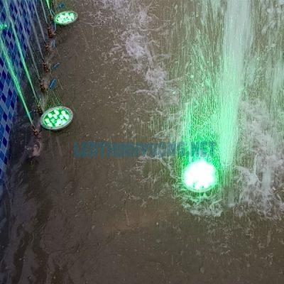 Đèn Led âm nước dạng đế 2