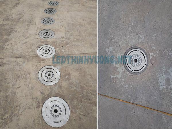 Đèn Led âm nước sản xuất tại Led Thịnh Vượng 6