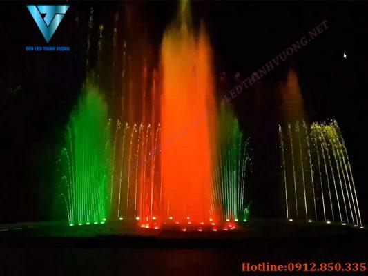 Đèn led chống nước giá tốt lắp đặt khu sinh thái hương sơn hà tĩnh