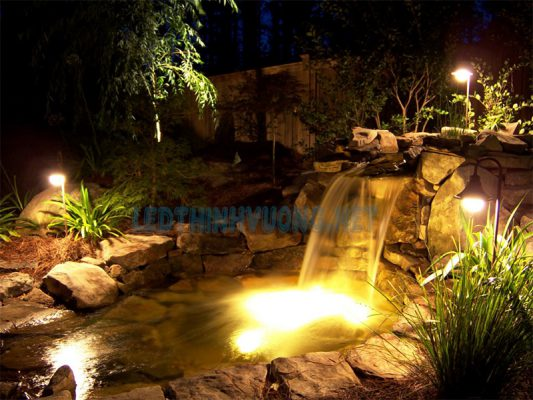 Top 3 loại đèn âm nước bể cá phù hợp nhất hiện nay